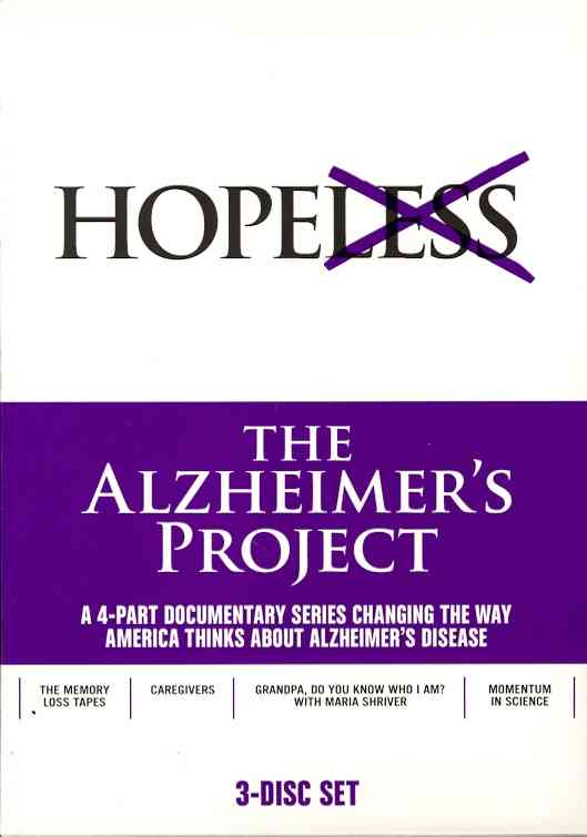 ALZHEIMER'S PROJECT BY SHRIVER,MARIA (DVD)