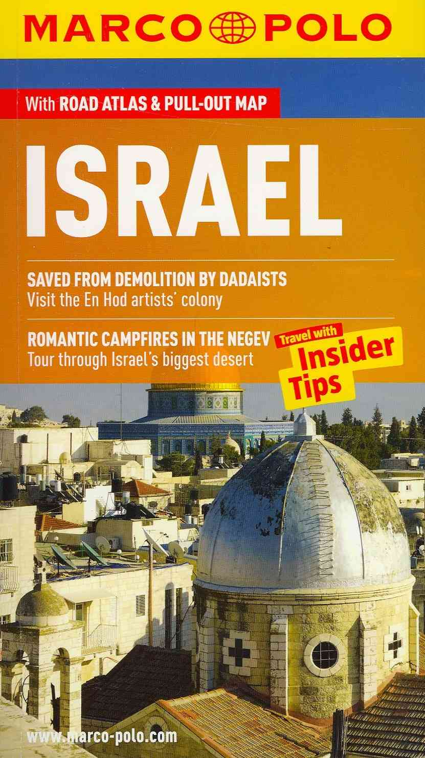 Israel Marco Polo Guide By Marco Polo Travel Publishing (COR)